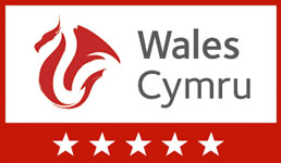 visit Wales 5 star Guest Accommodation